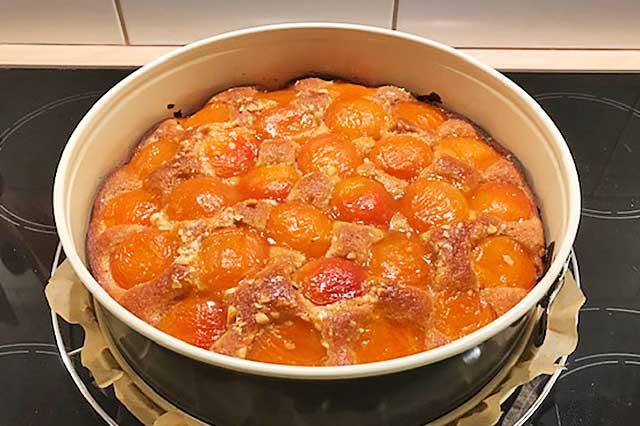 Aprikosen Rührkuchen