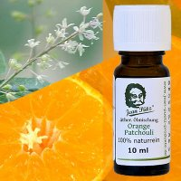 Orange-Patchouli 10 ml ätherische Ölmischung