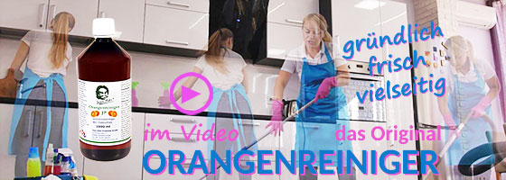 Orangenreiniger Video