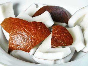 Kokosnuss Fruchtfleisch