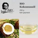 kalt gepresstes BIO Kokosnussöl