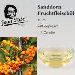 Sanddorn Fruchtfleischöl, Sanddornöl
