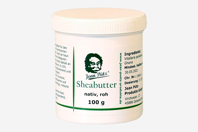 Sheabutter, nativ, roh