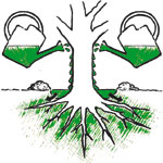 Einsatz von Waldleben