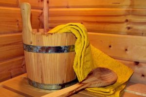 Sauna-Aufguss