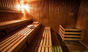 Sauna, im Winter besonders beliebt