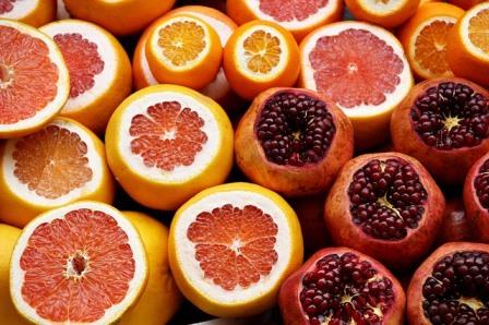 Zitrusfrüchte, Vitamine