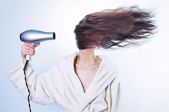 Haarwirkstoffe, Haare