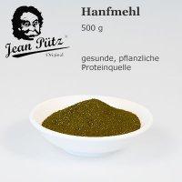 Hanfmehl, proteinreich