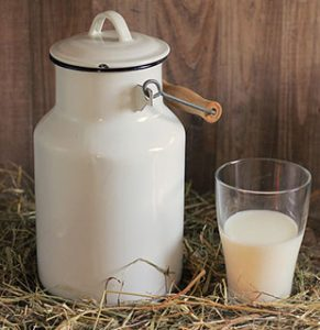 Laktose Intoleranz Milchkanne