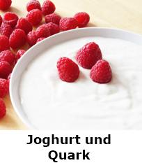 Joghurt und Quark