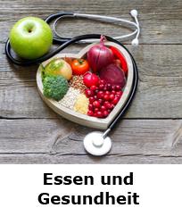 Informationen zu Essen und Gesundheit