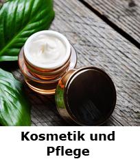 Informationen zu Kosmetik und Pflege