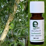 100% naturreines Teebaumöl, Jean Pütz und Teebaumöl