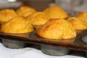 Muffins mit Sonnenblumenkern Mehl